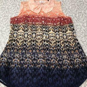 Cabo sleeveless blouse